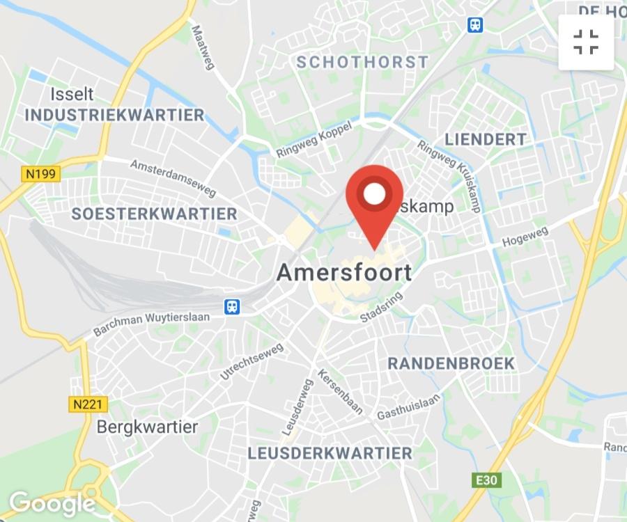 Kaart coronatest-amersfoort.com - Coronavirus test locaties Amersfoort